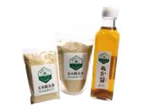 塩糠調味液/玄米離乳食